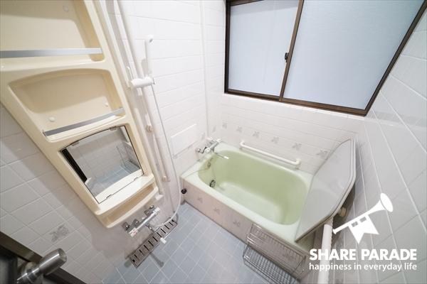 バスルームもあります。