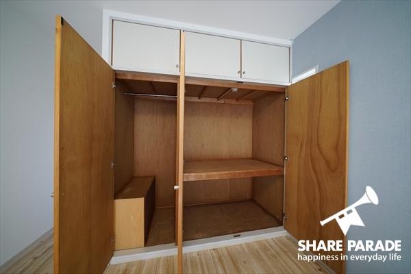 収納スペースも大型で困ることなし。
