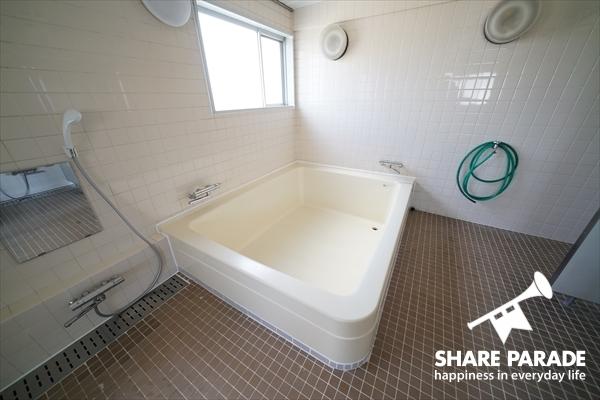 みんなでお風呂とか修学旅行みたい。