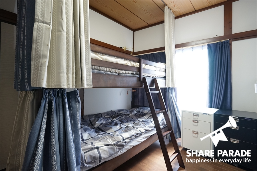 一部屋に2ベッドあります。