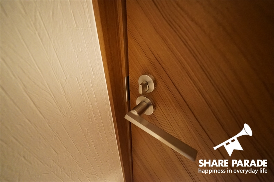 鍵かかります。