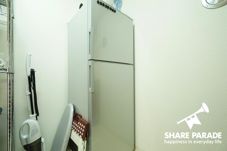 共有の大きな冷蔵庫です。
