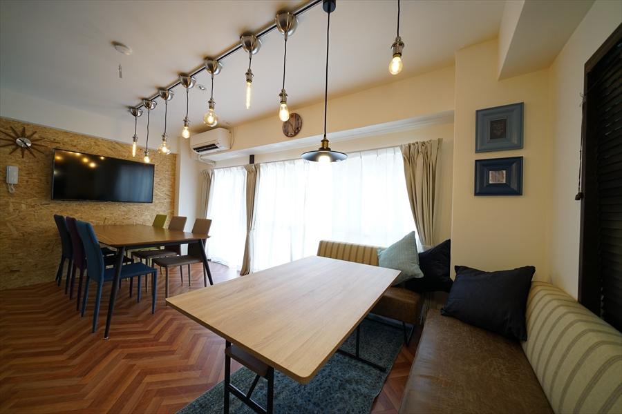 お部屋は、2Fと3Fと9Fにあります。