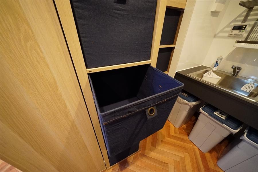 キッチン収納BOX。