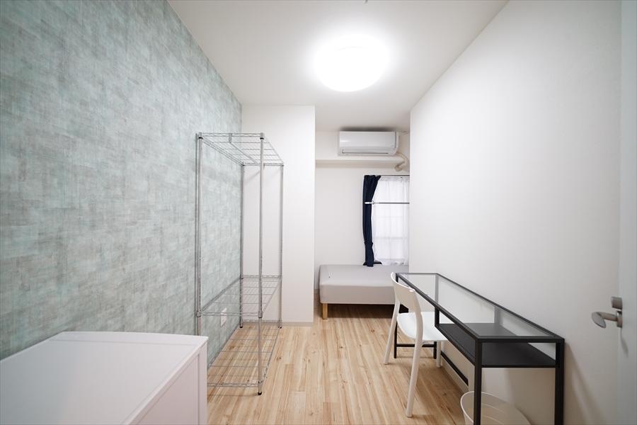 お部屋ごとに壁紙が違います。