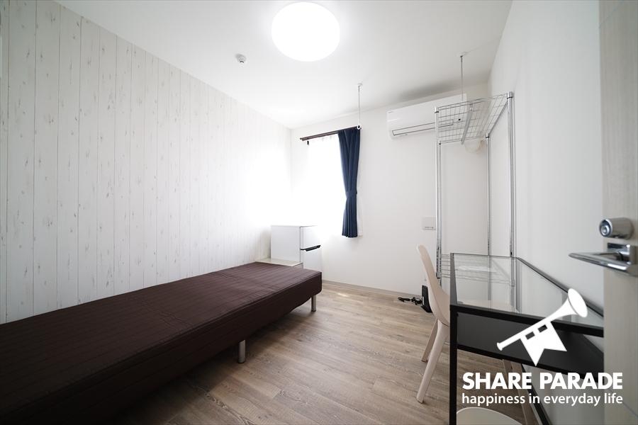 壁紙はお部屋ごとに違います。