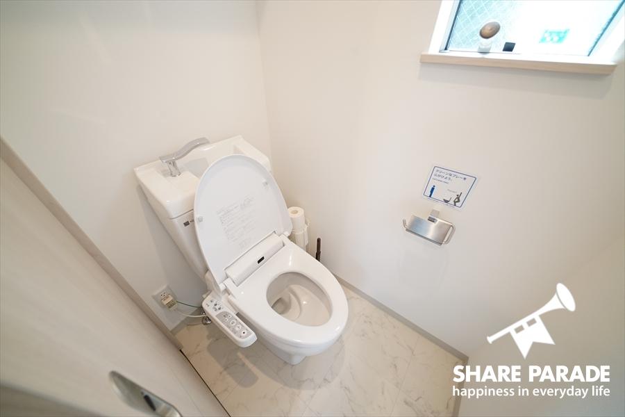 1Fのトイレ。