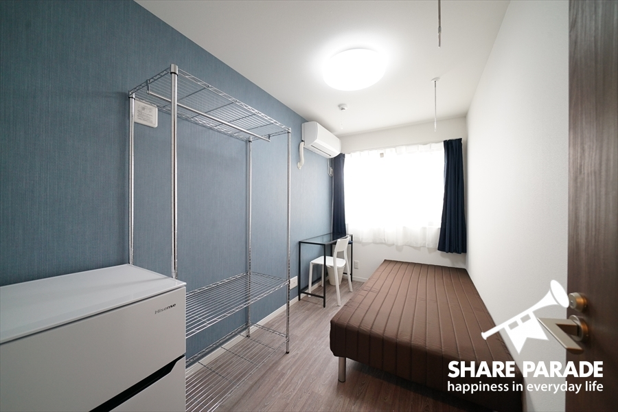 壁紙がお部屋によって違います。