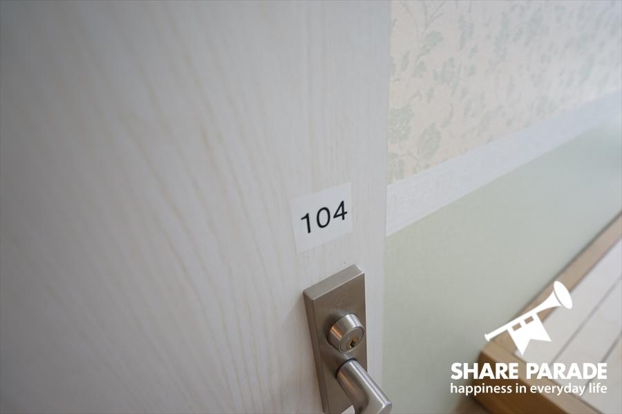 お部屋の鍵は掛かります。