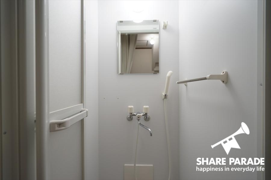 シャワールームの様子です