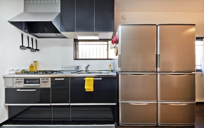 冷蔵庫が2つ設置されています