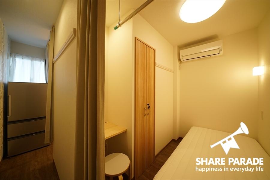 108号室はツインルームになっています。