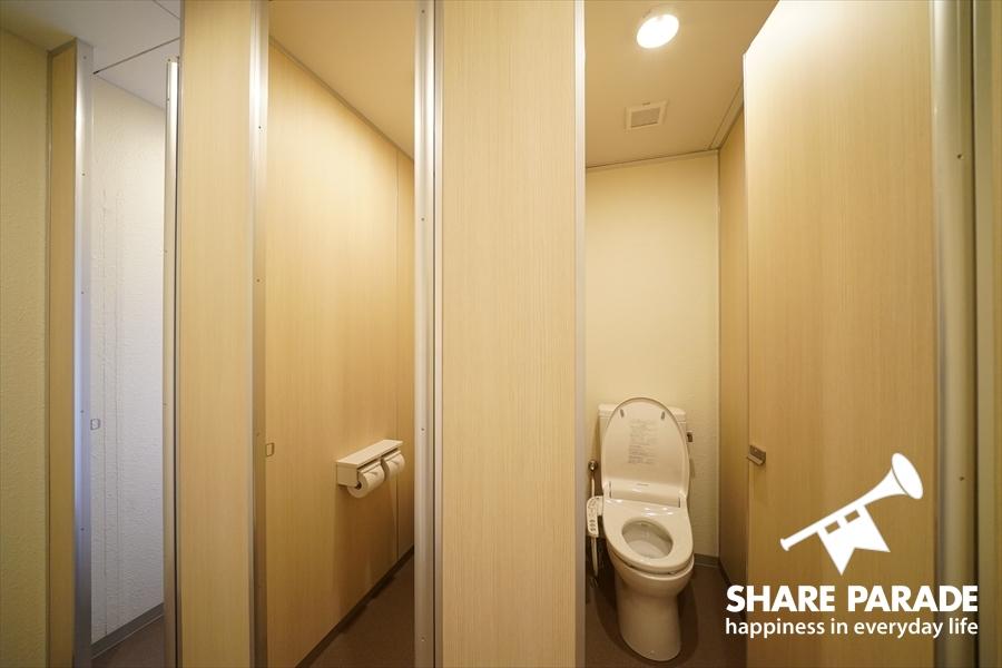 トイレは3つあります。