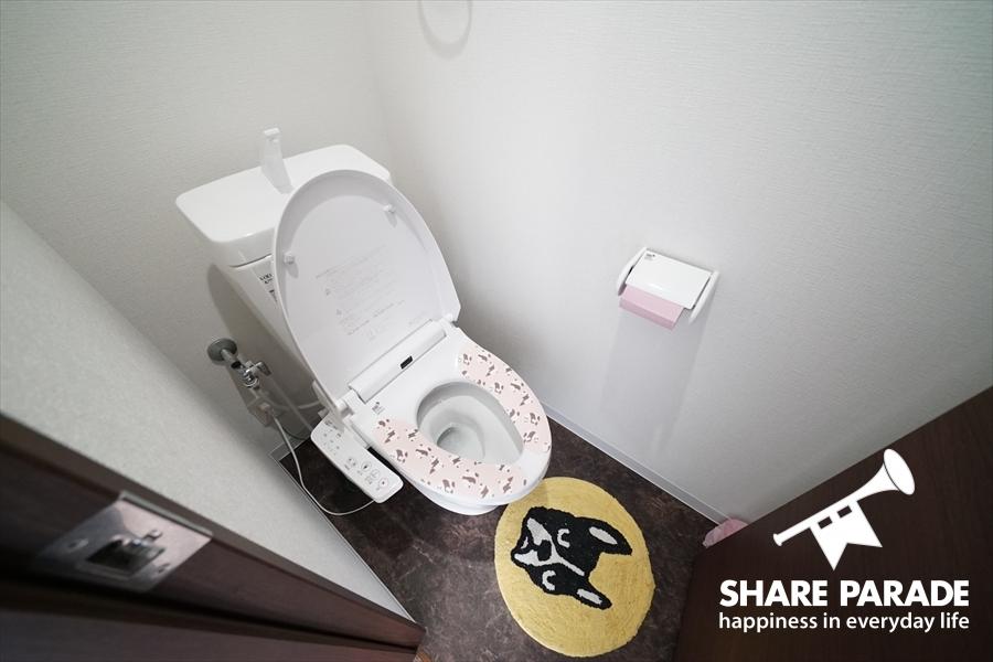 トイレは3式あります。