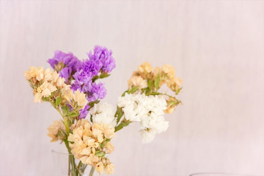 お花の似合う空間です。