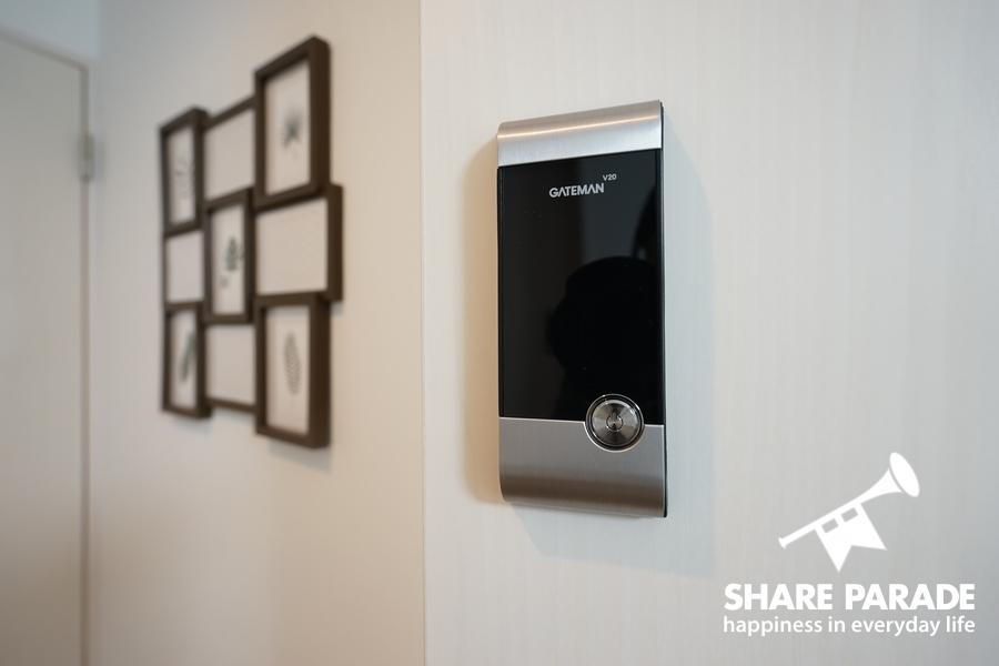 各お部屋に鍵が付いているので安心です