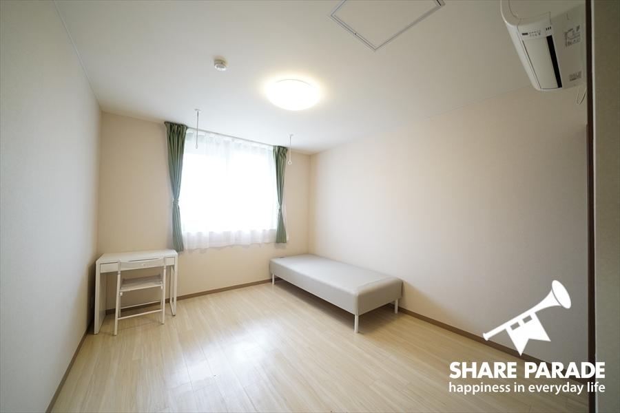 どのお部屋も広々しているのが特徴的。