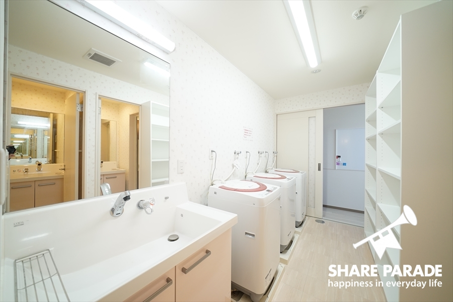 ここにも洗面があります。