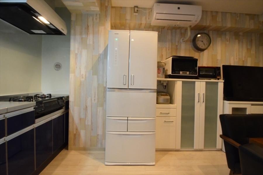 共有で使える冷蔵庫です