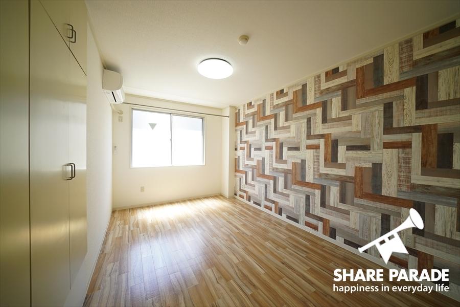 お部屋のフローリングや壁紙、多数あります。