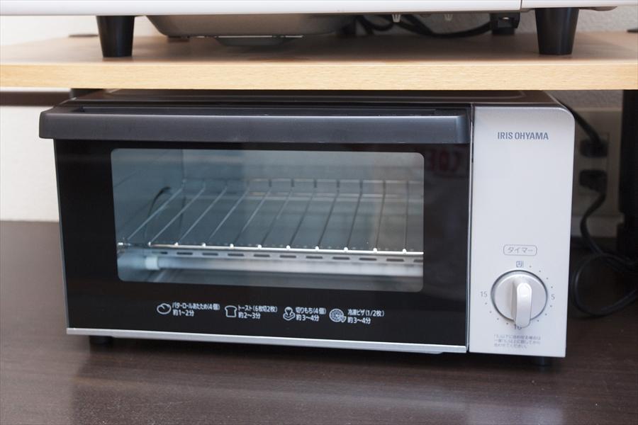 オーブントースターです