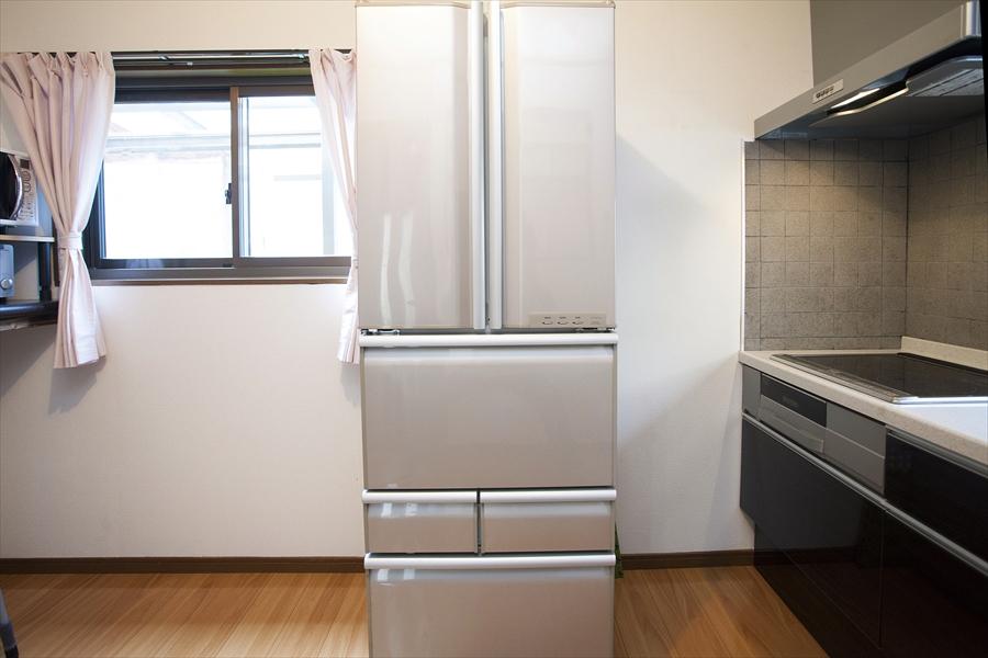 共有の冷蔵庫です