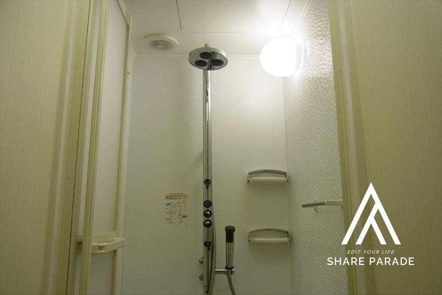 シャワー室の様子です