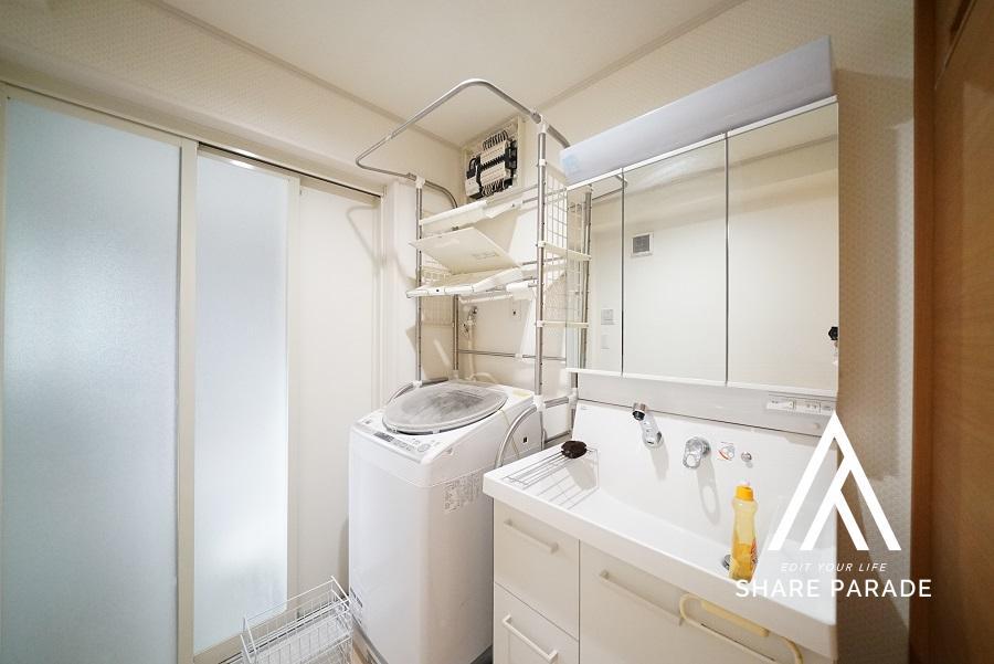 洗面・洗濯機は2つ用意があります。