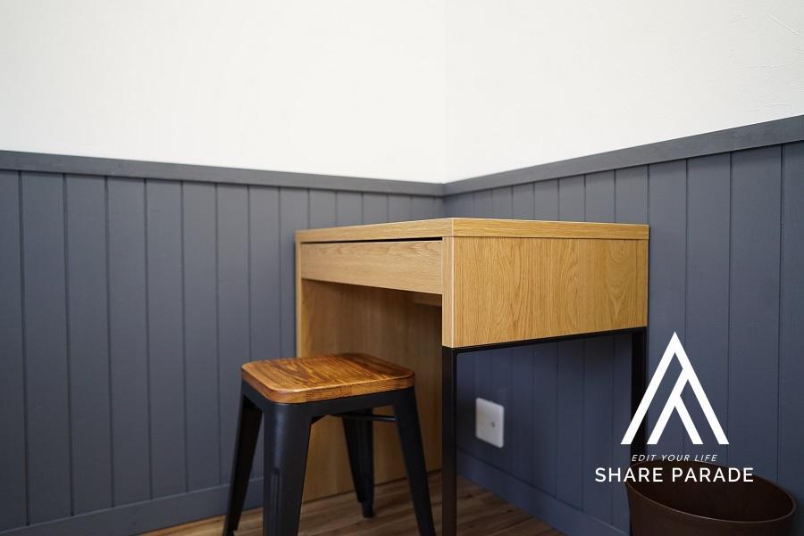 生活に必要な最低限の家具は一式揃っています。