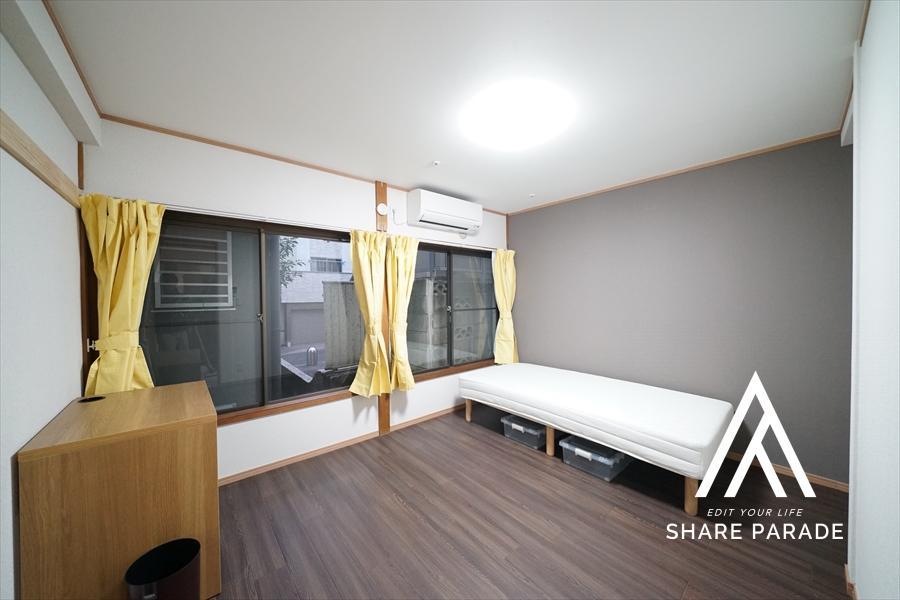 信濃町の都心に6帖以上の広さのある個室はここだけ。