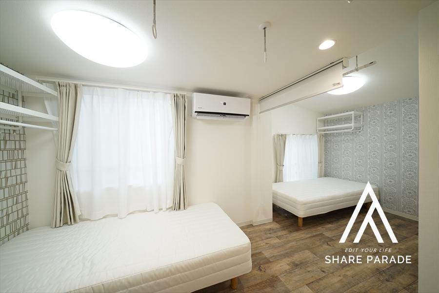 1部屋だけツインルーム仕様になっています。