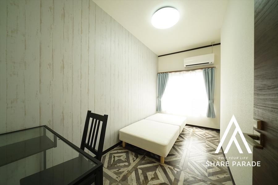 お部屋は15部屋。サイズも内装も様々ご用意。