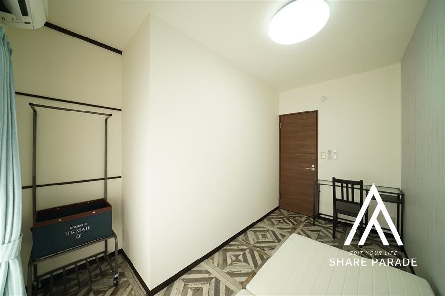 L字型のお部屋。
