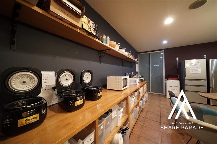 炊飯器・電子レンジ等ももちろんご利用可能です!