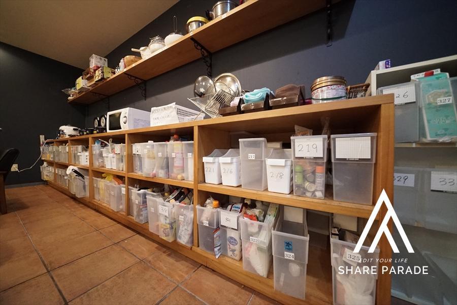 入居者様それぞれの収納スペースをご用意しております!