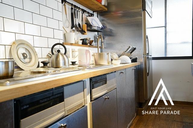 キッチン 3口IHクッキングヒーター×2台あります!