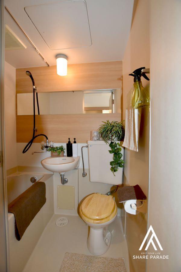 各居室水回り完備!ライベートな空間が守られちょっと贅沢な時間♪