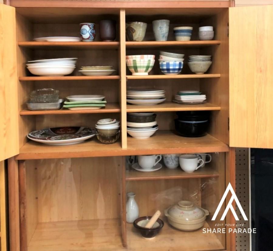 物件共用の食器棚